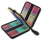 72 Lápices de Colores Profesional, Únicos con Estuche de Transporte Zenacolor - 72 Lapices colores Para pintar Mandalas de Adultos y Lapices de Dibujo - Kit de Lapices de colores