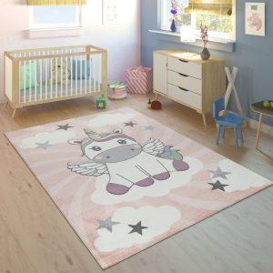 alfombras infantiles de unicornios