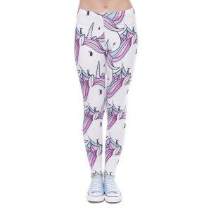 leggins de unicornios para niña