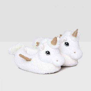 pantuflas de unicornios