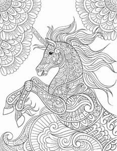 Mandala de unicornios 4