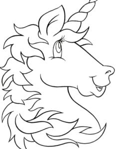Unicornios Kawaiis para colorear