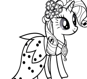 Dibujos de unicornios para colorear y imprimir