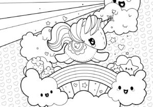 Dibujos para colorear e imprimir de unicornios