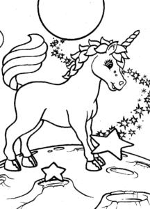Imagenes de unicornios kawaii para colorear
